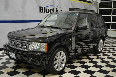 2008 Land Rover Range Rover for sale at Blue Line Motors in Winchester VA