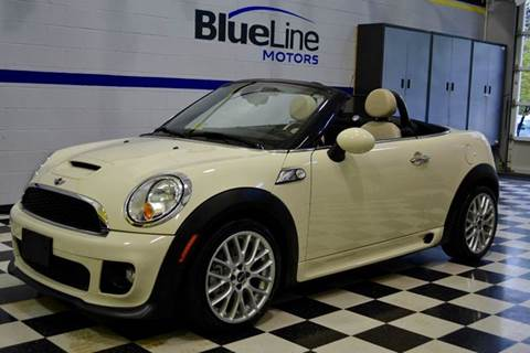 2012 MINI Cooper Roadster for sale at Blue Line Motors in Winchester VA