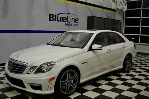 2010 Mercedes-Benz E-Class for sale at Blue Line Motors in Winchester VA