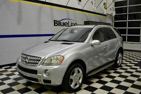 2008 Mercedes-Benz M-Class for sale at Blue Line Motors in Winchester VA