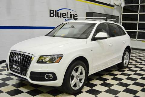 2012 Audi Q5 for sale at Blue Line Motors in Winchester VA