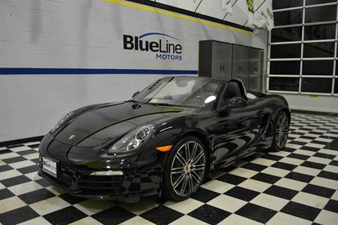 2016 Porsche Boxster for sale at Blue Line Motors in Winchester VA