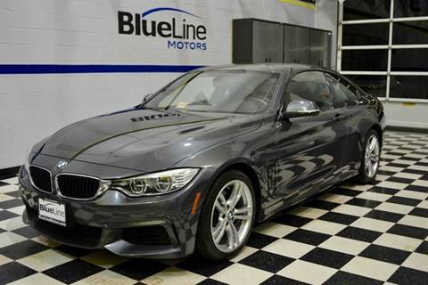 2014 BMW 4 Series for sale at Blue Line Motors in Winchester VA