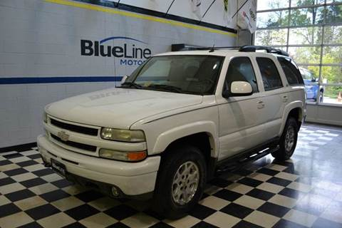 2004 Chevrolet Tahoe for sale at Blue Line Motors in Winchester VA