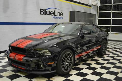 2013 Ford Shelby GT500 for sale at Blue Line Motors in Winchester VA