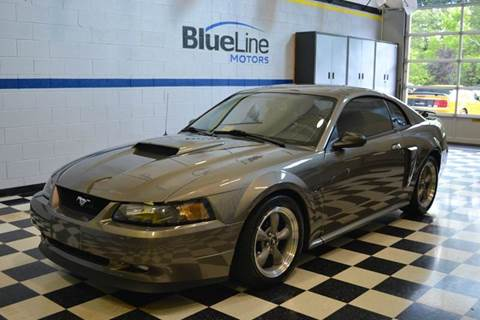 2002 Ford Mustang for sale at Blue Line Motors in Winchester VA
