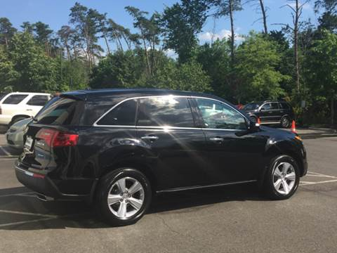 2013 Acura MDX for sale at Blue Line Motors in Winchester VA