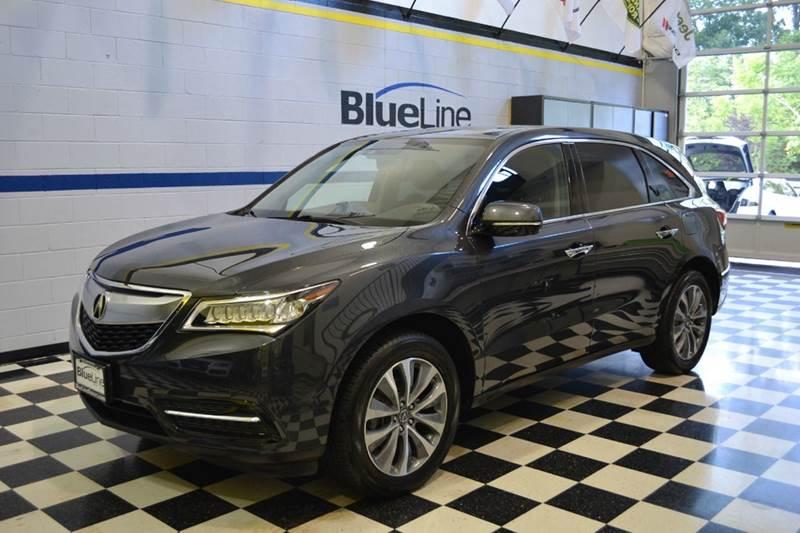 2014 Acura MDX for sale at Blue Line Motors in Winchester VA