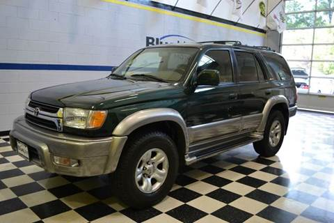 2002 Toyota 4Runner for sale at Blue Line Motors in Winchester VA