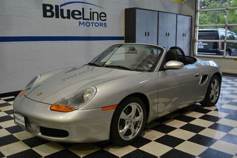 2002 Porsche Boxster for sale at Blue Line Motors in Winchester VA