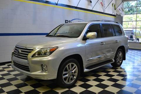 2014 Lexus LX 570 for sale at Blue Line Motors in Winchester VA