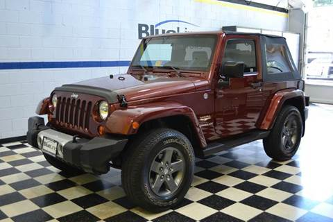 2007 Jeep Wrangler for sale at Blue Line Motors in Winchester VA