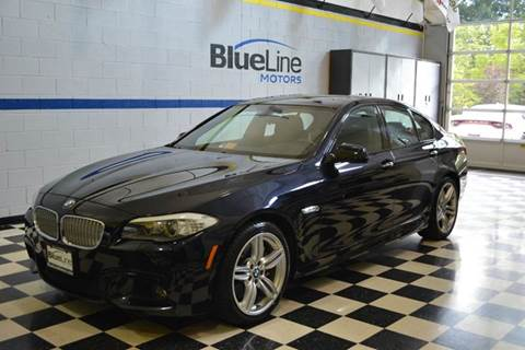 2013 BMW 5 Series for sale at Blue Line Motors in Winchester VA
