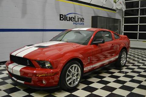 2007 Ford Shelby GT500 for sale at Blue Line Motors in Winchester VA