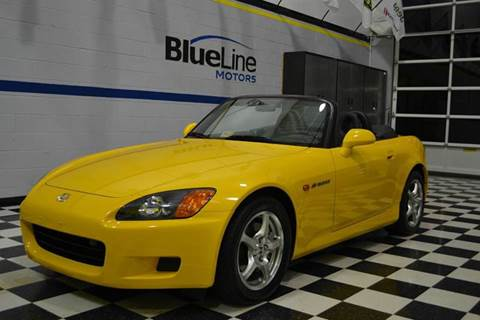 2002 Honda S2000 for sale at Blue Line Motors in Winchester VA