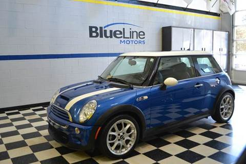2005 MINI Cooper for sale at Blue Line Motors in Winchester VA