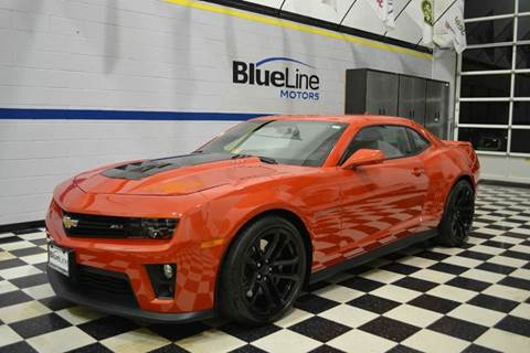 2013 Chevrolet Camaro for sale at Blue Line Motors in Winchester VA