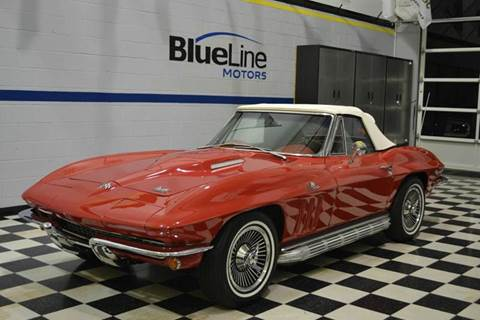 1966 Chevrolet Corvette for sale at Blue Line Motors in Winchester VA