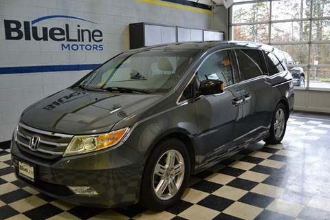 2011 Honda Odyssey for sale at Blue Line Motors in Winchester VA