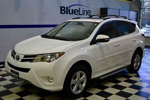 2013 Toyota RAV4 for sale at Blue Line Motors in Winchester VA