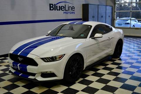 2015 Ford Mustang for sale at Blue Line Motors in Winchester VA