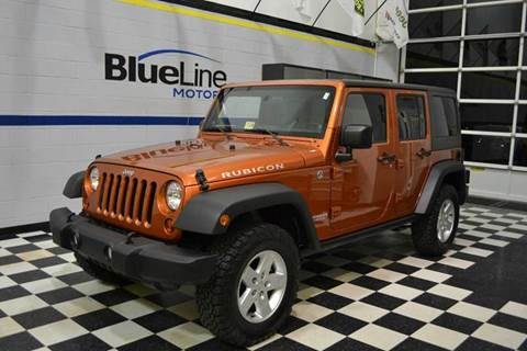 2011 Jeep Wrangler Unlimited for sale at Blue Line Motors in Winchester VA