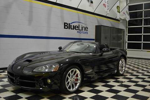 2005 Dodge Viper for sale at Blue Line Motors in Winchester VA