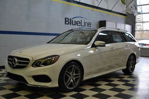 2015 Mercedes-Benz E-Class for sale at Blue Line Motors in Winchester VA