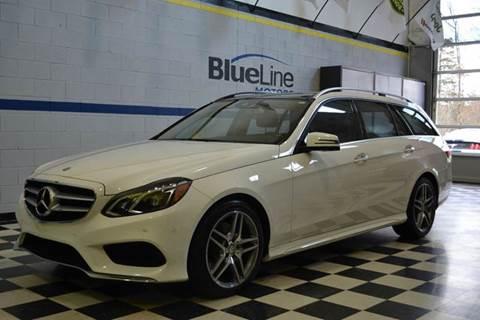 2015 Mercedes-Benz E-Class for sale at Blue Line Motors in Winchester VA