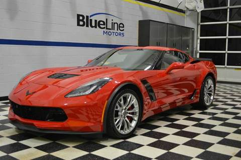 2016 Chevrolet Corvette for sale at Blue Line Motors in Winchester VA