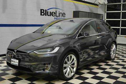 2016 Tesla Model X for sale at Blue Line Motors in Winchester VA