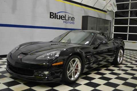 2007 Chevrolet Corvette for sale at Blue Line Motors in Winchester VA