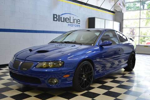 2006 Pontiac GTO for sale at Blue Line Motors in Winchester VA