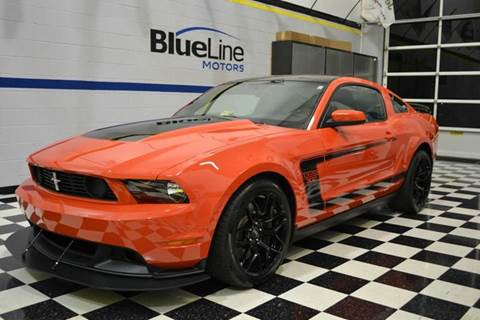 2012 Ford Mustang for sale at Blue Line Motors in Winchester VA