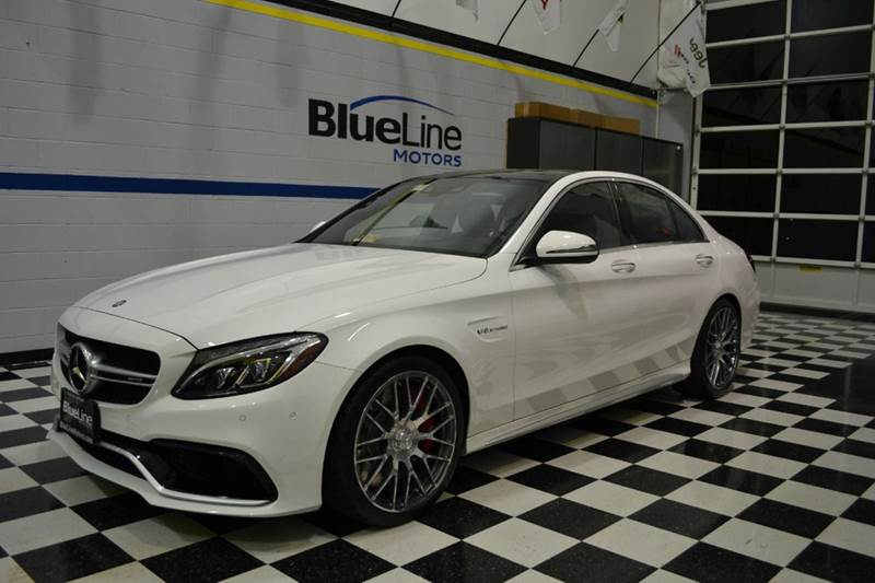 2016 Mercedes-Benz C-Class for sale at Blue Line Motors in Winchester VA