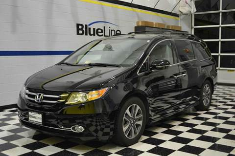 2014 Honda Odyssey for sale at Blue Line Motors in Winchester VA