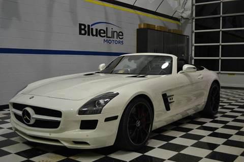2012 Mercedes-Benz SLS AMG for sale at Blue Line Motors in Winchester VA