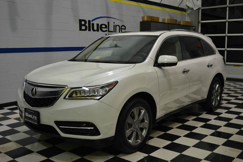 2016 Acura MDX for sale at Blue Line Motors in Winchester VA
