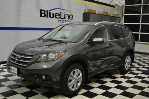 2014 Honda CR-V for sale at Blue Line Motors in Winchester VA