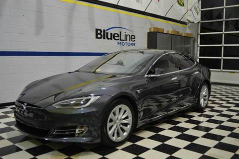 2017 Tesla Model S for sale at Blue Line Motors in Winchester VA