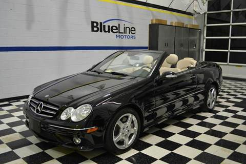 2006 Mercedes-Benz CLK for sale at Blue Line Motors in Winchester VA