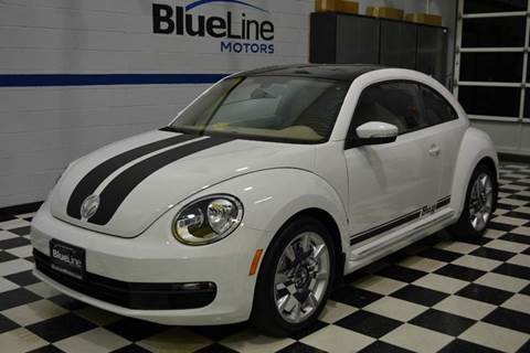 2016 Volkswagen Beetle for sale at Blue Line Motors in Winchester VA