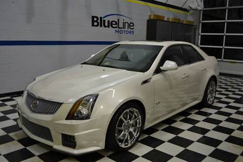 2011 Cadillac CTS-V for sale at Blue Line Motors in Winchester VA