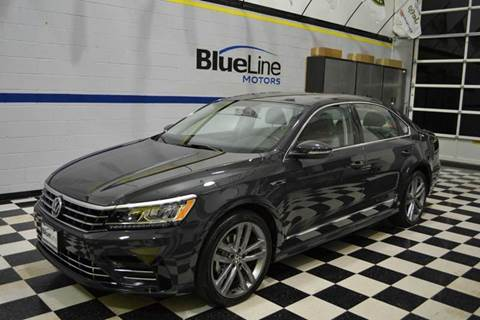 2017 Volkswagen Passat for sale at Blue Line Motors in Winchester VA