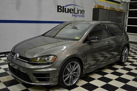 2017 Volkswagen Golf R for sale at Blue Line Motors in Winchester VA