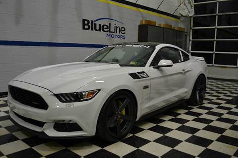 2017 Ford Mustang for sale at Blue Line Motors in Winchester VA