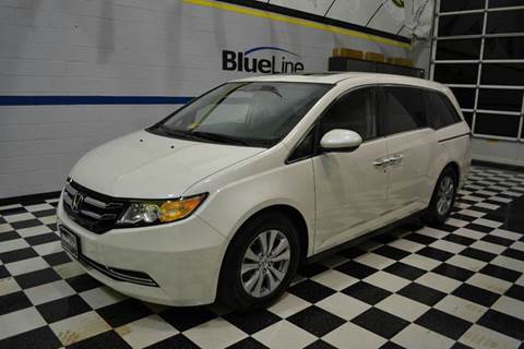 2015 Honda Odyssey for sale at Blue Line Motors in Winchester VA