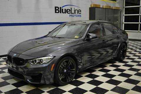 2015 BMW M3 for sale at Blue Line Motors in Winchester VA