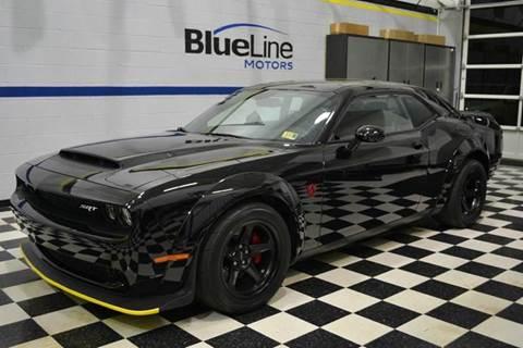 2018 Dodge Challenger for sale at Blue Line Motors in Winchester VA
