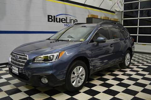 2017 Subaru Outback for sale at Blue Line Motors in Winchester VA